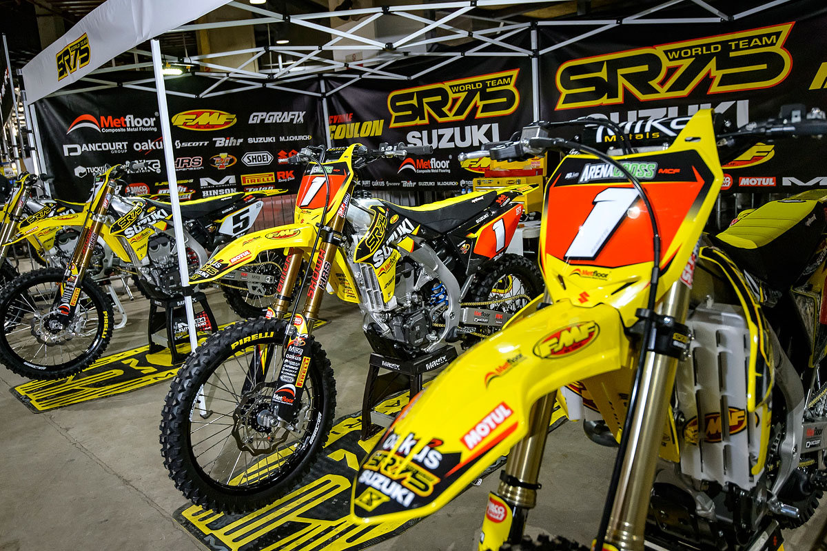 Leading Teams Support Arenacross Tour