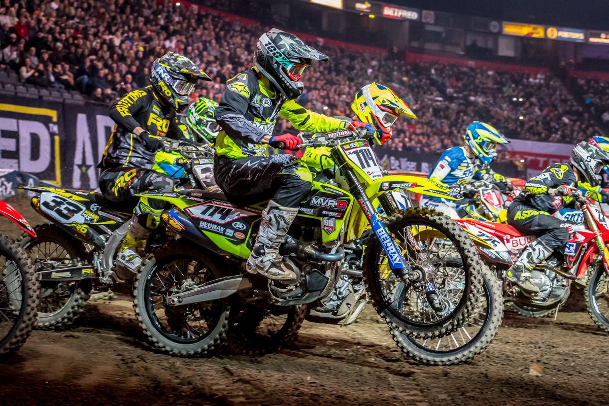World-Class Pros Line Up For The New-Look Arenacross Tour
