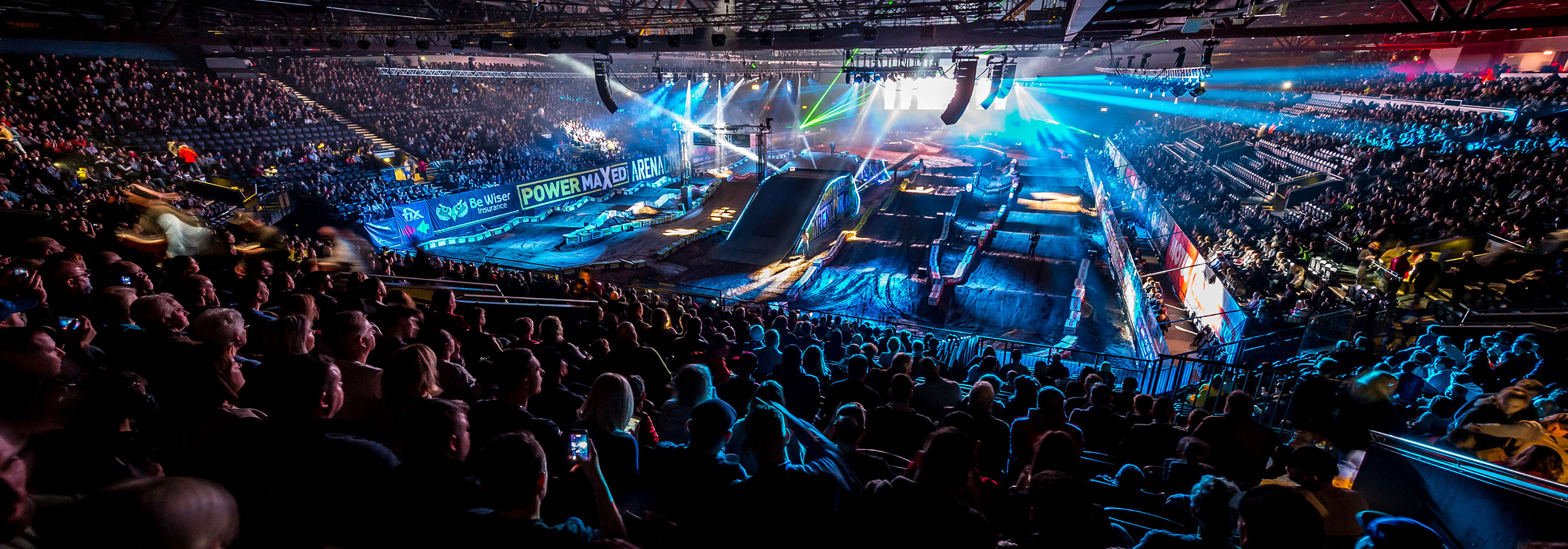 the genting arena track design