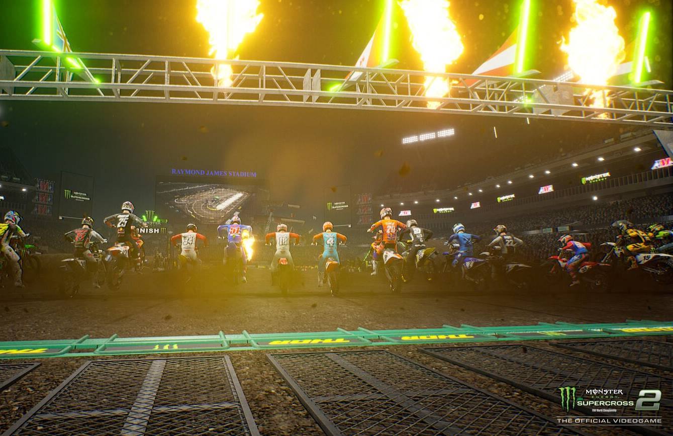 Supercross Two Gets Ready to Race With Arenacross
