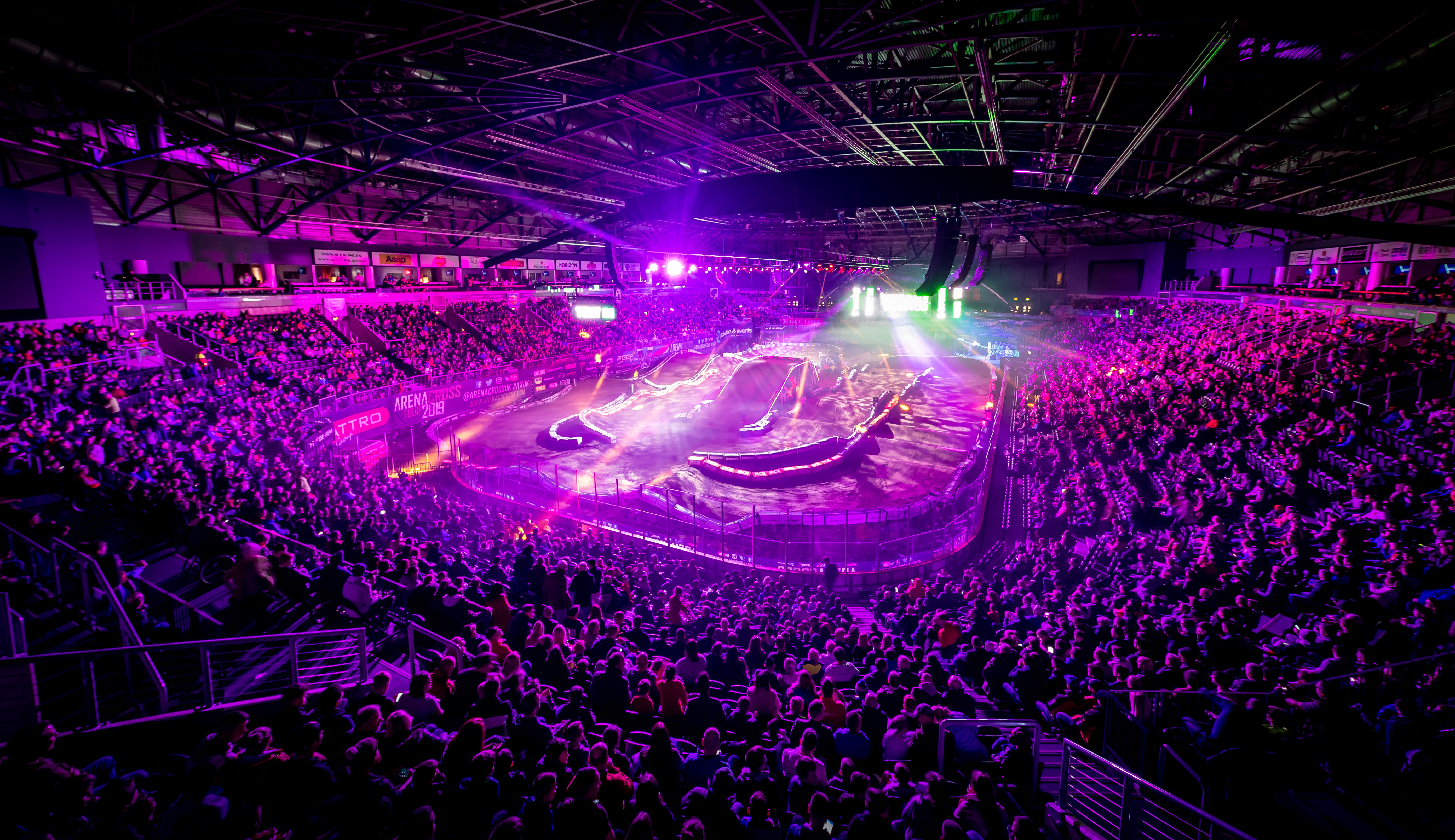 BELFAST ARENACROSS ROUND ONE SELL OUT