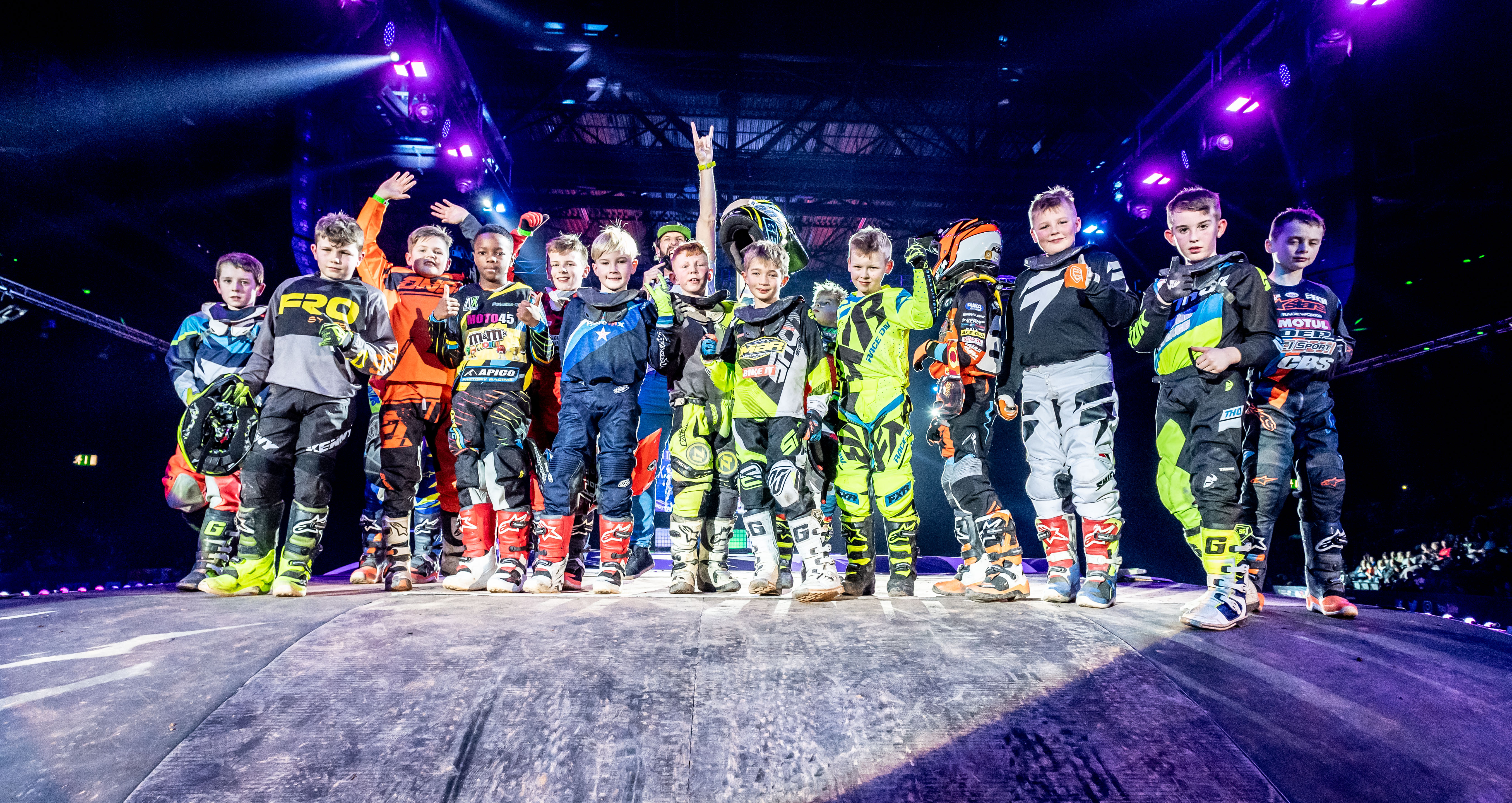 ARENACROSS YOUTHS HIT HALF WAY POINT AT BIRMINGHAM