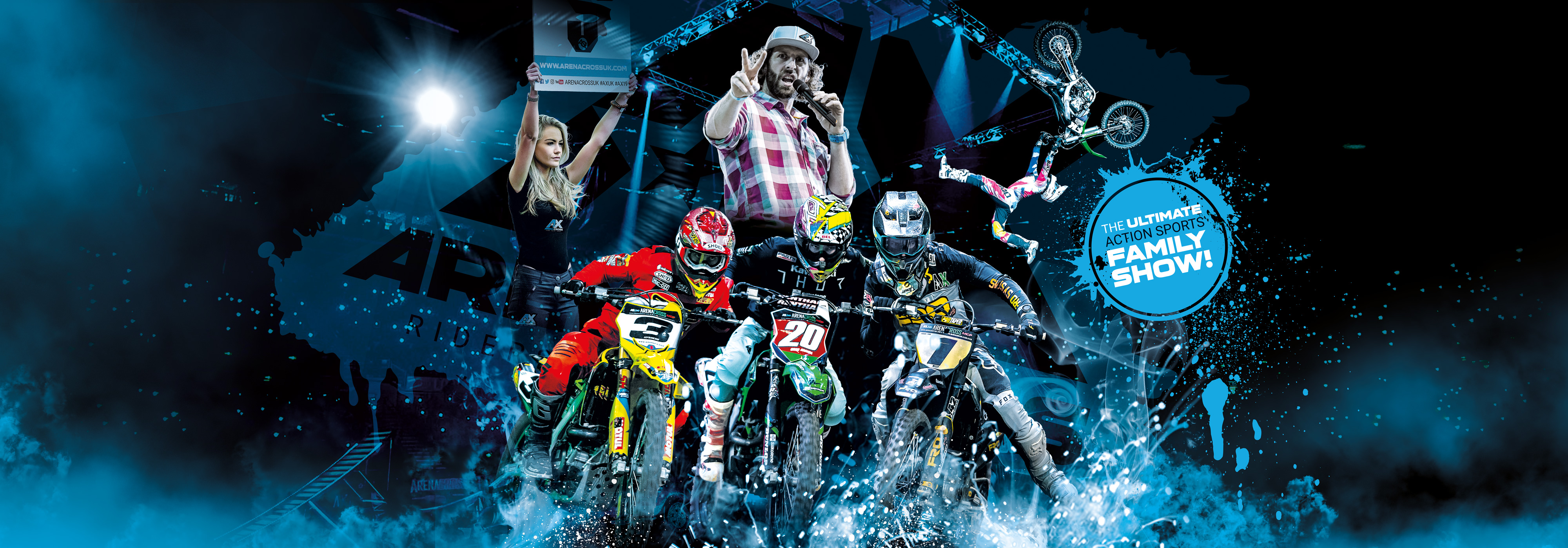 Calendrier World Tour 2020.Arenacross Uk Buy Tickets Now