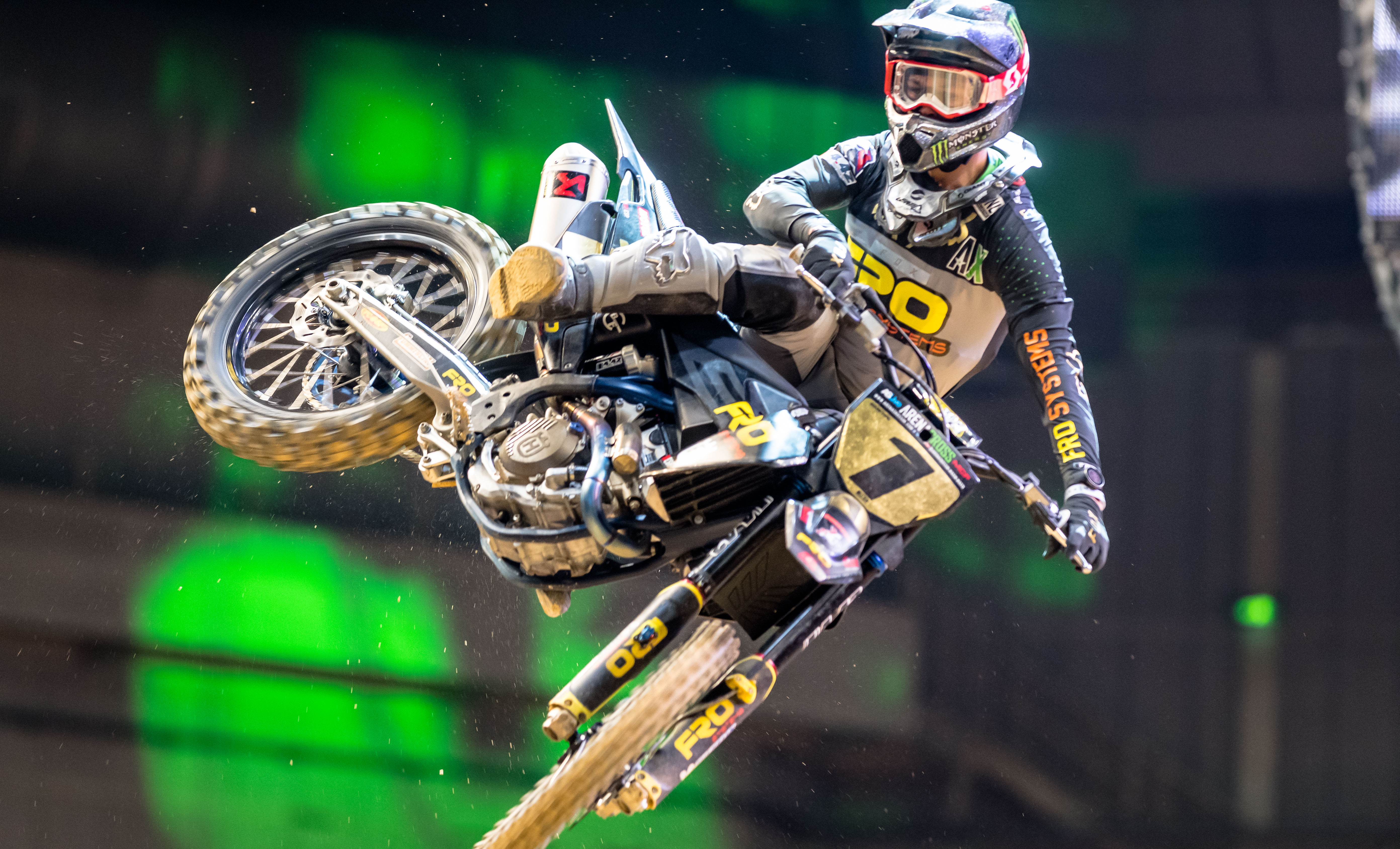 ASA United Husqvarna take on Arenacross with 2019 Champion