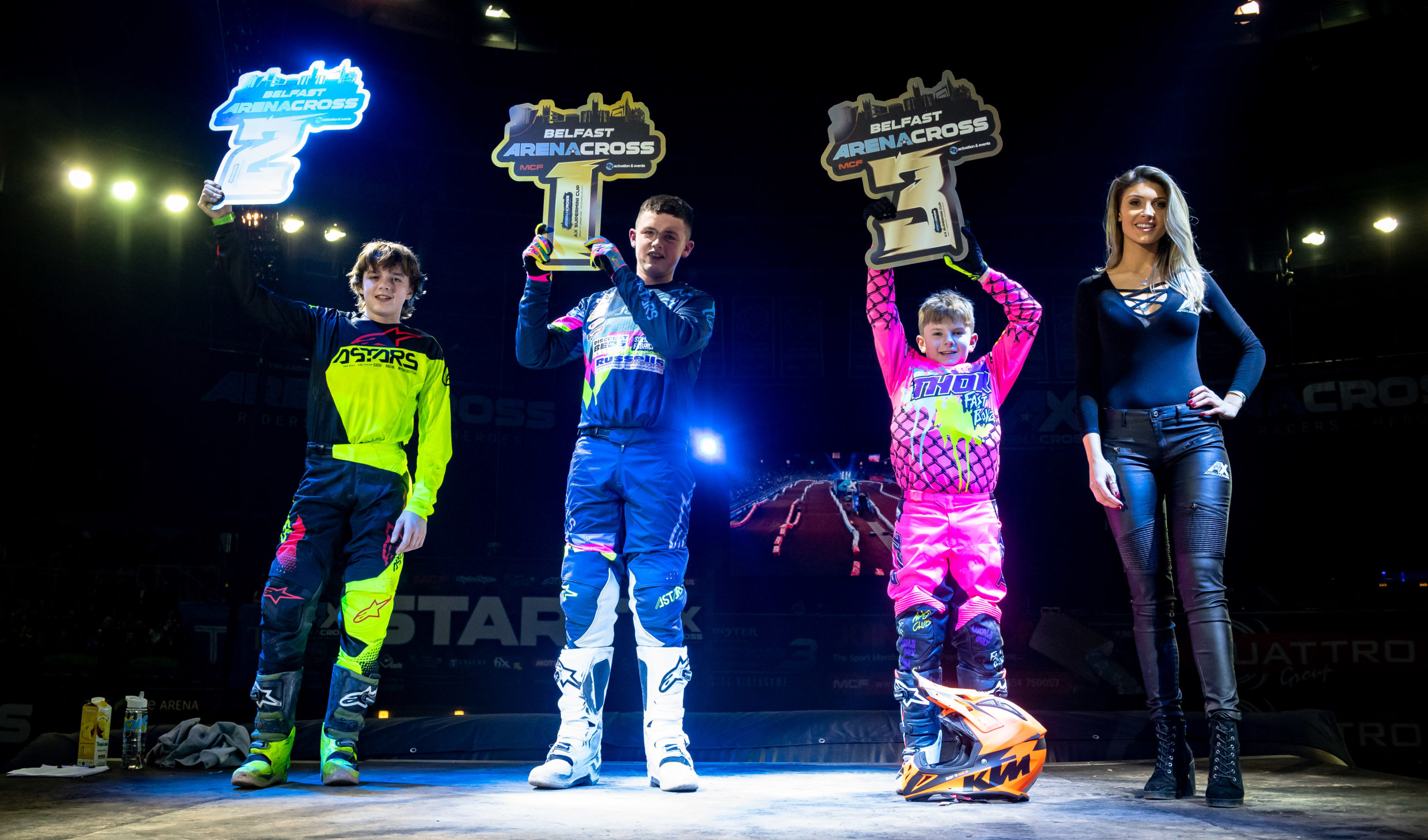 First battles of The 2020 Arenacross Tour