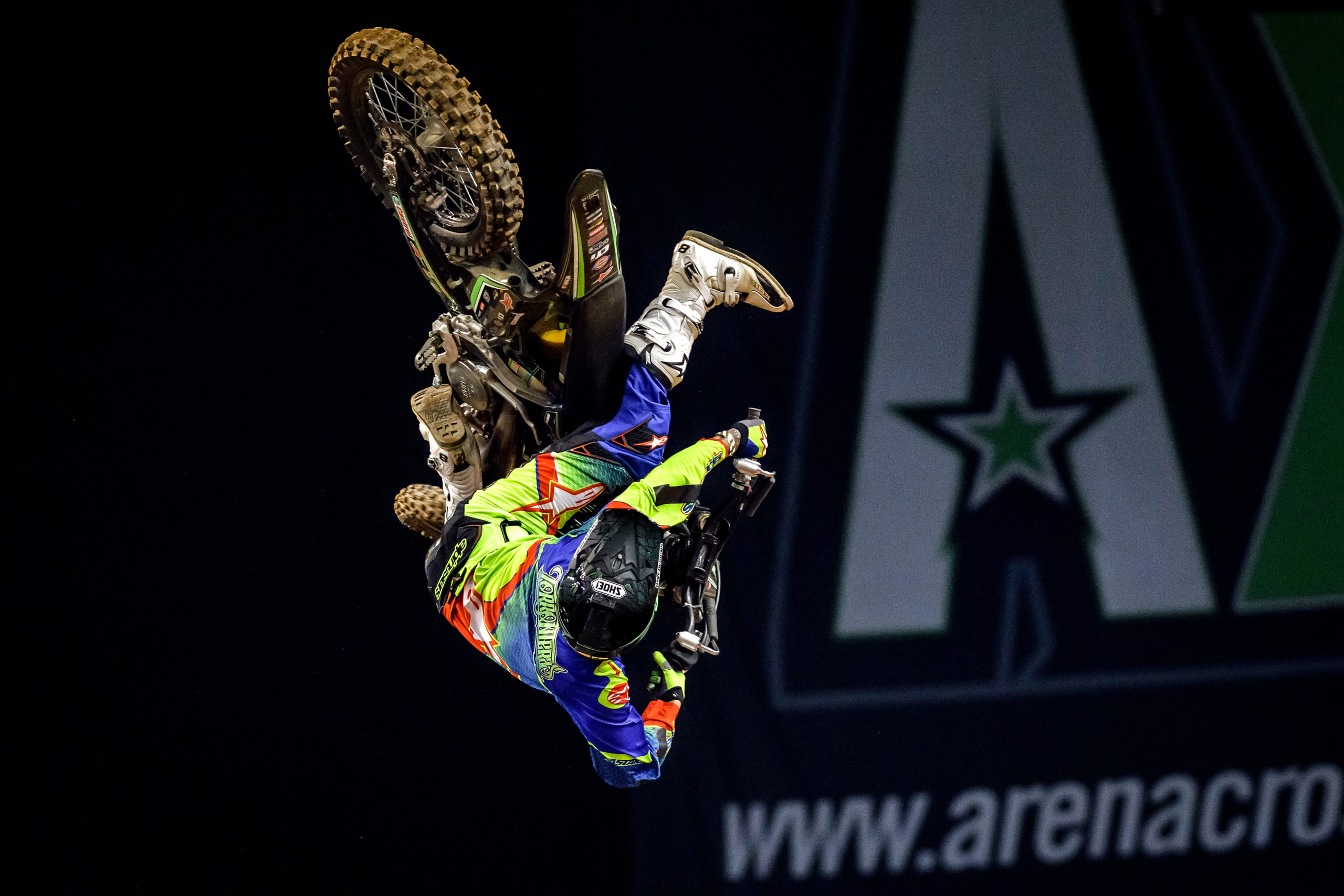 Freestyle Motocross Godfather Edgar Torronteras returns to Arenacross!