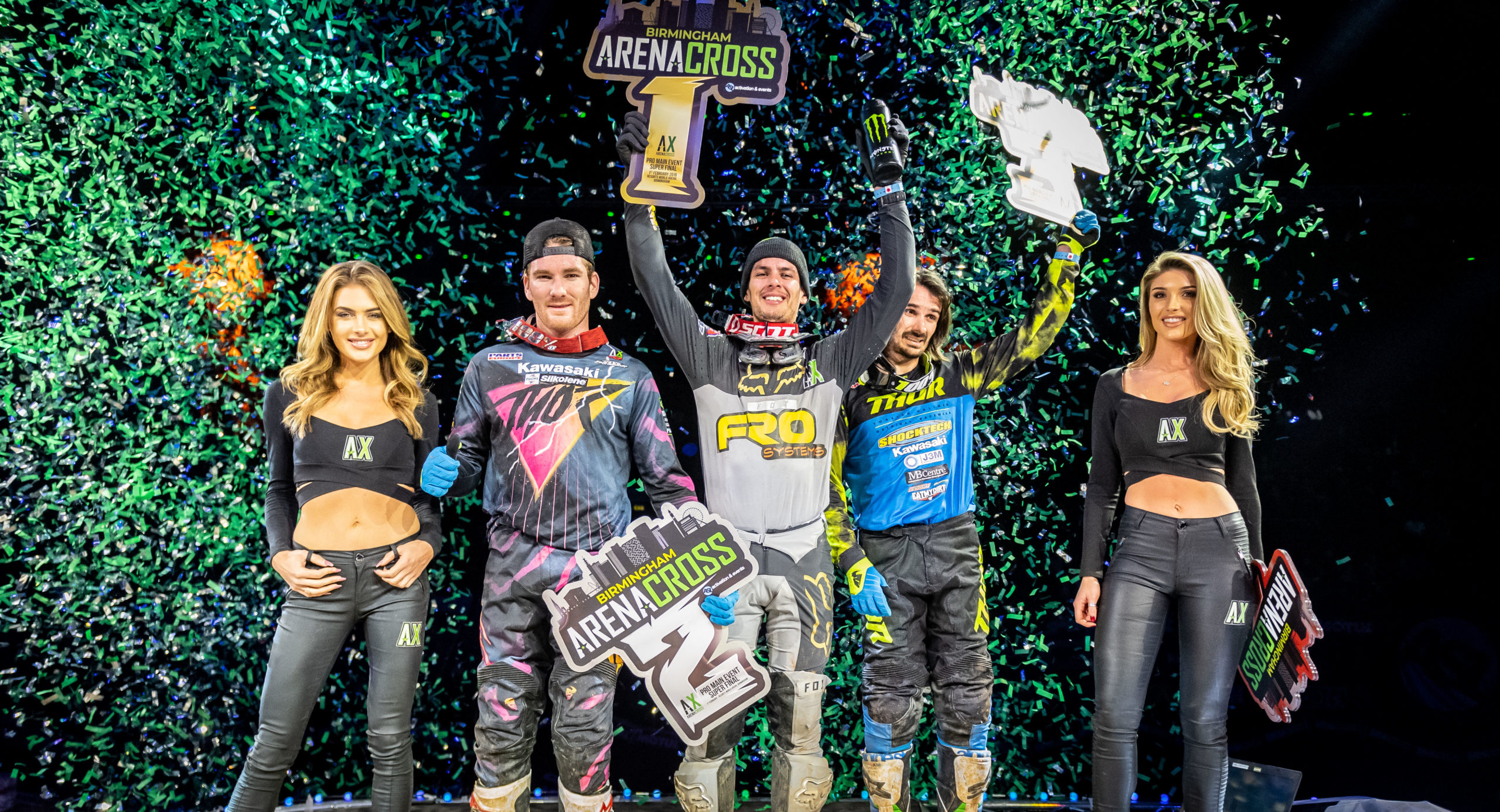 2020 Arenacross Tour – Final Start List
