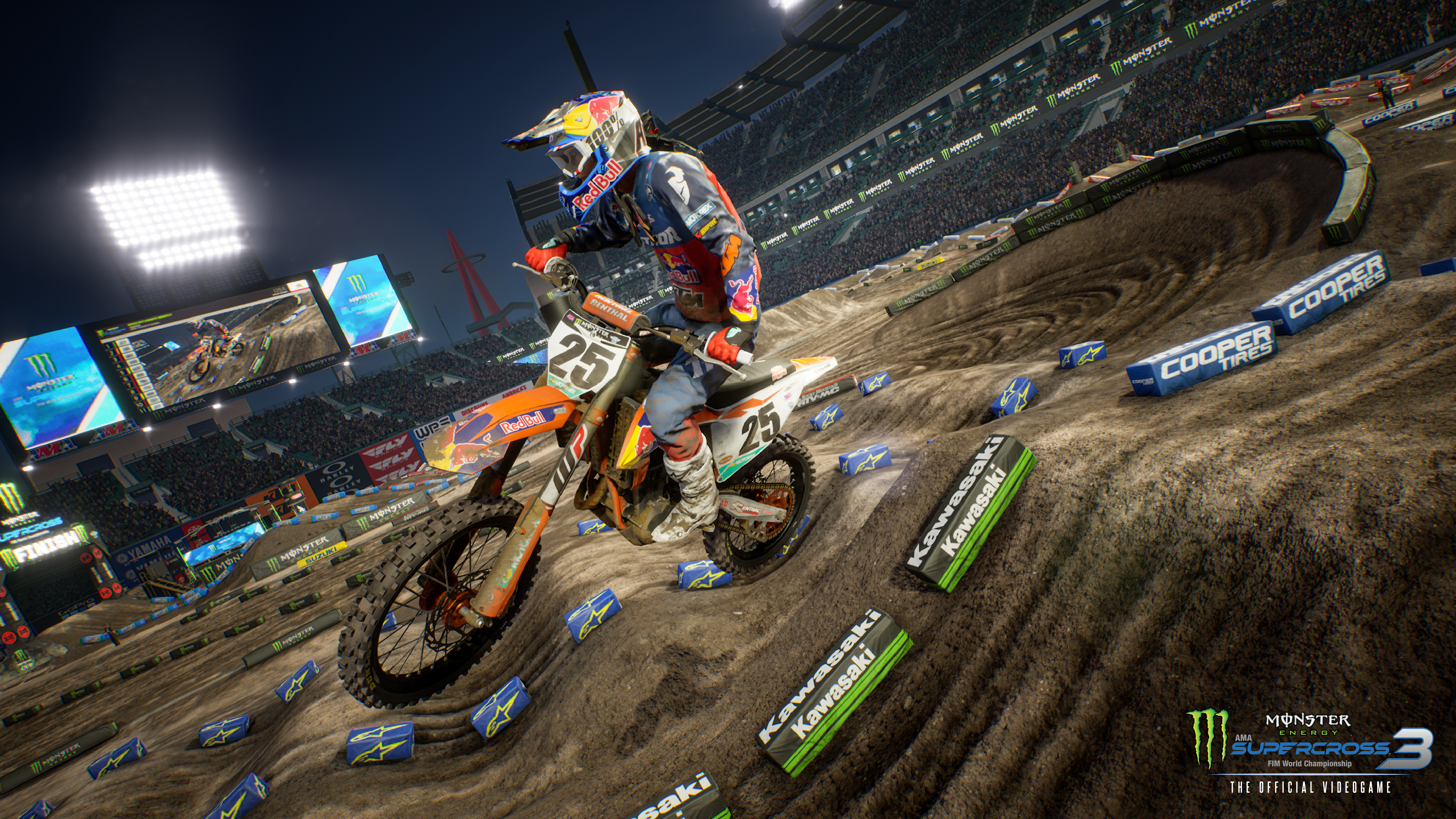 Review: Supercross 3 The Game with FMXer Samson Eaton