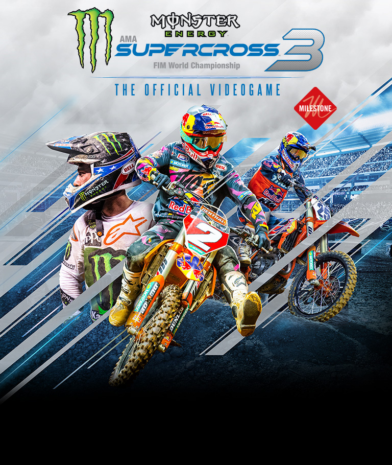 MONSTER ENERGY SUPERCROSS – THE OFFICIAL VIDEOGAME 3 ON SALE NOW!
